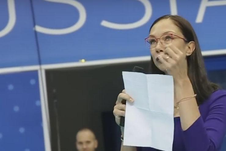 Gamova chora em despedida das quadras