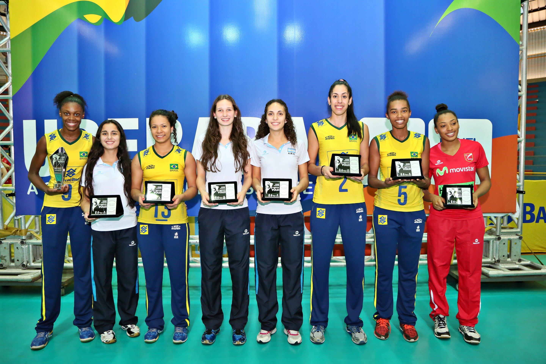 Brasileiras dominam a seleção do Sul-americano sub-20