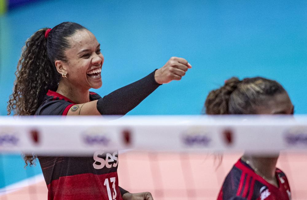 Amanda Sesc Flamengo Superliga 2020/21 Vôlei feminino