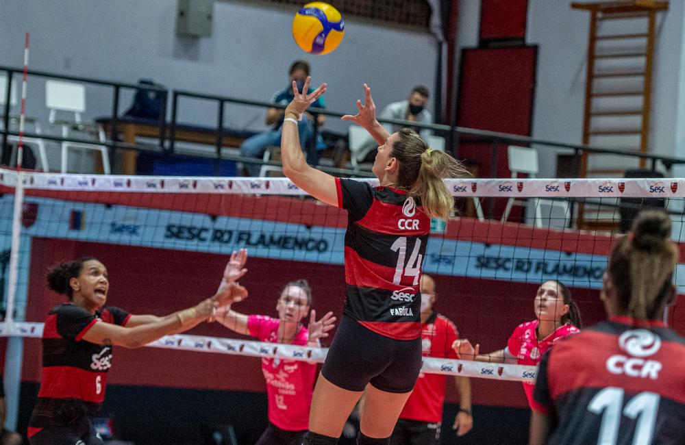 Fabíola Sesc Flamengo Superliga 2020/21 Vôlei feminino