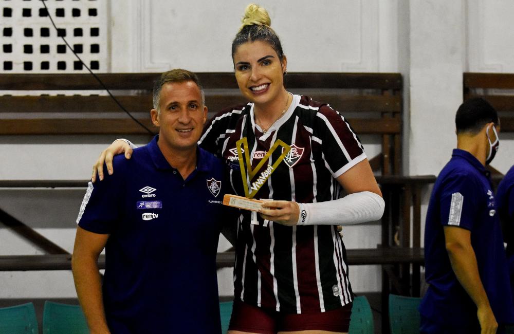 Fernanda Tomé Fluminense Superliga 2020/21 Vôlei feminino