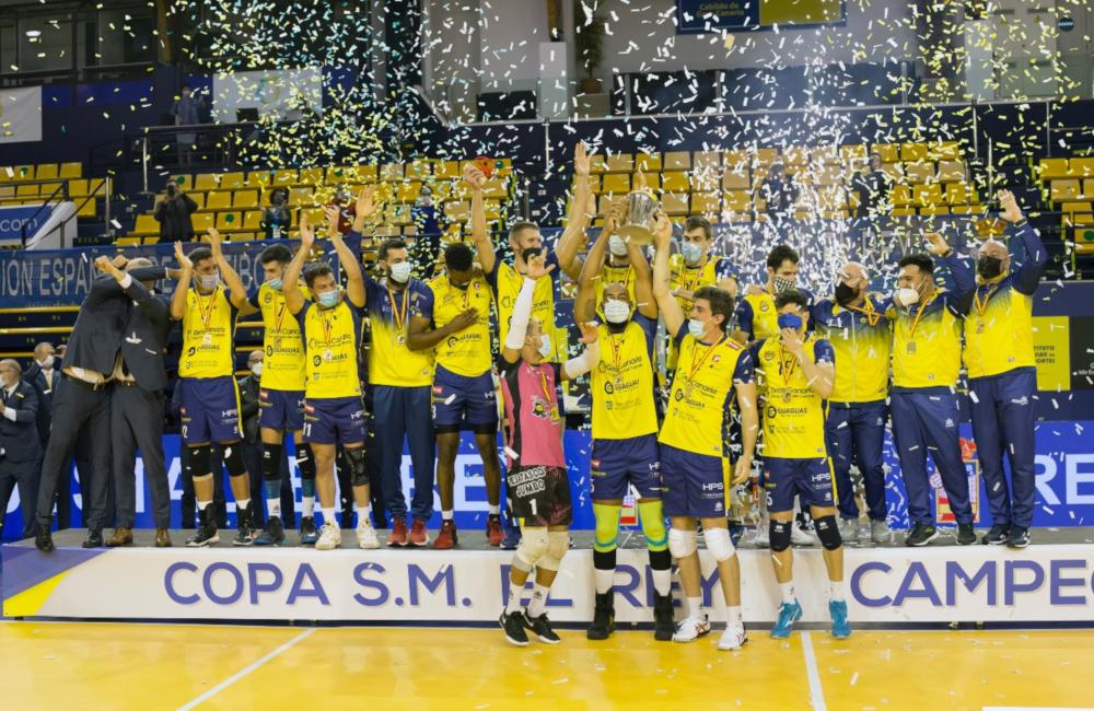Guaguas campeão Copa do Rei Espanha Brasileiros na Europa
