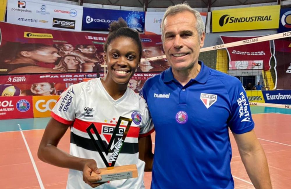 Lorrayna São Paulo/Barueri Vôlei feminino Superliga 2020/21