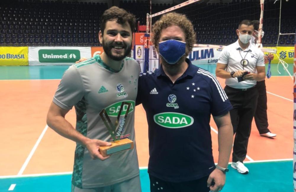 Lukinha Sada Cruzeiro Superliga 2020/21 Vôlei masculino