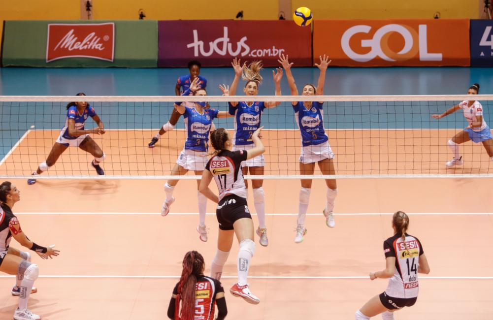 Itambé/Minas x Sesi Bauru - Copa Brasil 2021 Vôlei feminino