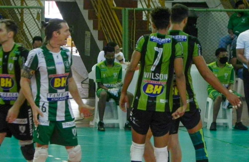 Montes Claros América Vôlei masculino Superliga 2020/21