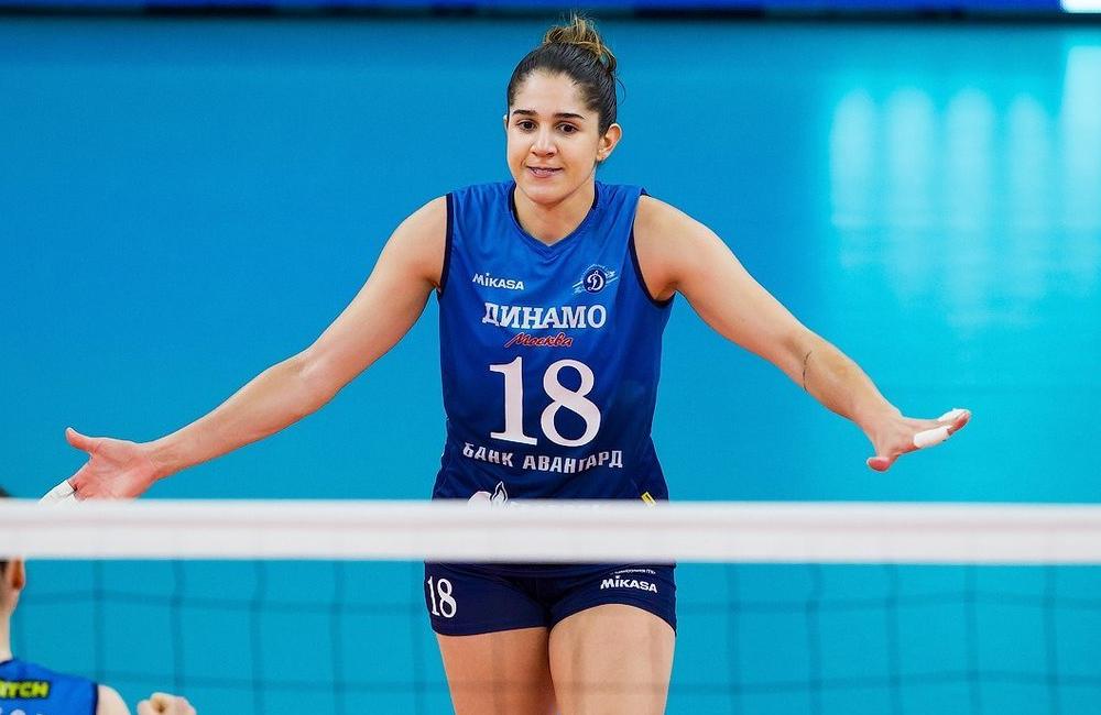 Natália Zílio Pereira Champions League Vôlei feminino Dínamo Moscou