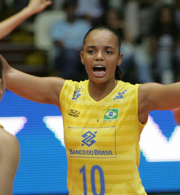 Sassá seleção brasileira Vôlei feminino