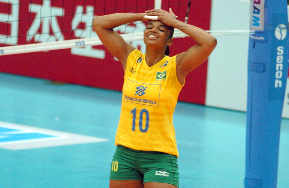 Sassá Vôlei feminino Seleção Brasileira