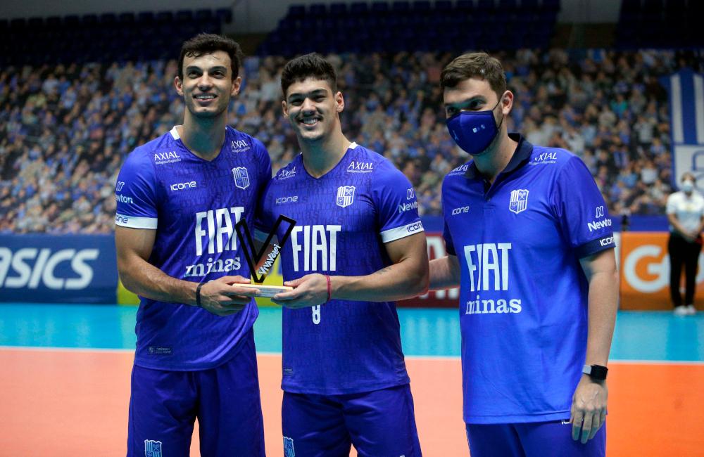 Fiat/Minas Honorato Lucas Superliga 2020/21 Vôlei masculino