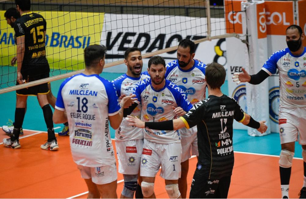 Guarulhos Taubaté Superliga Vôlei masculino