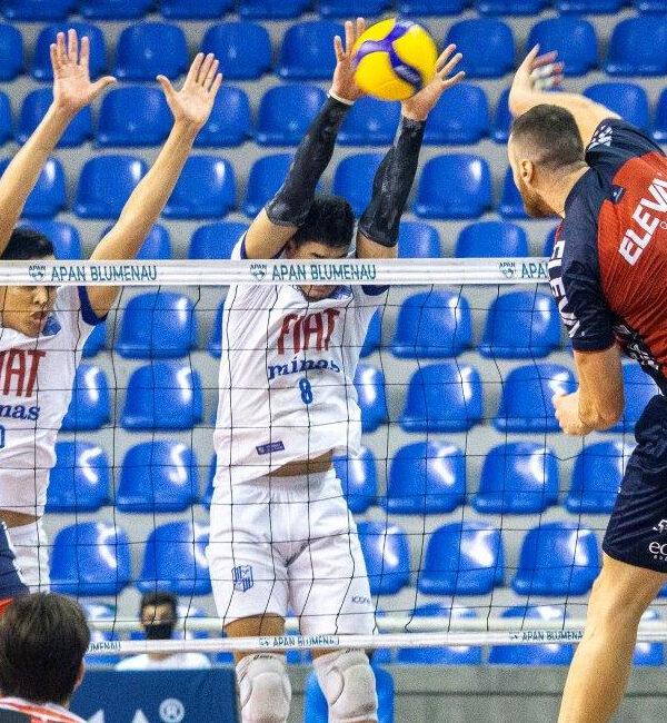 Franco Superliga 2020/21 Vôlei masculino Blumenau