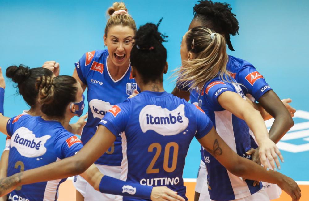 Dentil/Praia Clube Itambé/Minas Superliga 2020/21 Vôlei feminino
