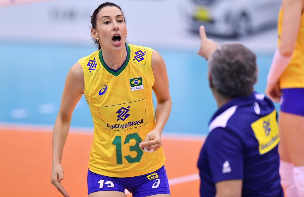 Sheilla Zé Roberto e seleção brasileira